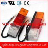 Indicatore luminoso 24V della coda del carrello elevatore a forcale LED di Tcm con 3 colori