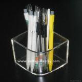 De duidelijke AcrylKalender van het Bureau met de Houder van de Pen (btr-H2043)