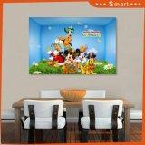 Panneau UV de modèle de configuration de pavillion de Mickey pour la décoration à la maison