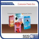 柔らかい折目のプラスチック包装ボックスをカスタマイズしなさい