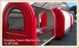 Ys-Bf230e 섬유유리 판매를 위한 이동할 수 있는 부엌 Crepe 음식 간이 건축물