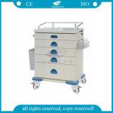 AG At020 판매를 위한 최신 판매 의료 기기 병원 트롤리 손수레