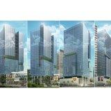 Baixo vidro isolado E energy-saving para o edifício elevado do aumento