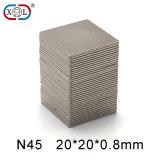N45 고품질 강한 자석 힘 영구 자석