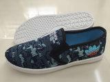 Самые последние ботинки ботинок холстины впрыски конструкции идущие (FZL712-16)