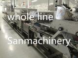 Nasse Gewebe-Maschine, machte Wischer-Produktionszweig naß