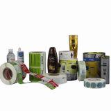 Collant auto-adhésif d'étiquette de qualité estampé par vente chaude pour le module de shampooing