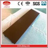 Fachada de aluminio material de la decoración de la capa de PVDF