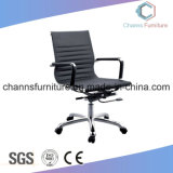 Fashion Chrom Metal White Manager Chaise en cuir Mobilier de bureau