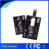 Mecanismo impulsor de la tarjeta de crédito 2016 del USB del asunto del regalo 16GB de la promoción