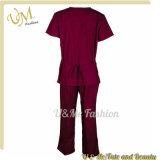 Rendu dans des uniformes d'infirmière de vente en gros de Chinal médical frotter le procès