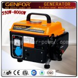 Refrigerado por aire 650W Generador de gasolina mini generador de gasolina para uso doméstico