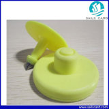 Бирка уха печатание RFID подгонянная UHF животная для идентификации скотин