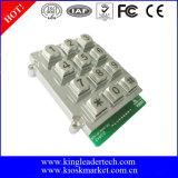 アクセス制御システムのための3X4マトリックスによって照らされるキーパッド