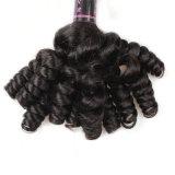 毛の要素の良質のブラジルの毛の拡張自然な人間の毛髪