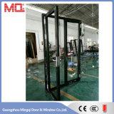 最もよい品質のアルミニウム二重ガラスドアおよびWindows広州