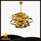 Moderner Dekor-Edelstahl-hängende Lampe (KAP17-008)