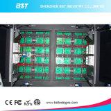 Quadro de avisos fixo do diodo emissor de luz do armazém ao ar livre da cor P10 cheia