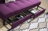 現代家具機能ファブリックソファーベッド