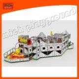 تصميم جديدة من ملعب داخليّة ليّنة مع منزلق لولبيّة