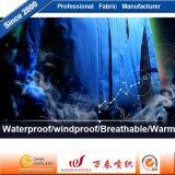 Functionele In te ademen Warme Stof met TPU die voor OpenluchtJasje bijeenkomt