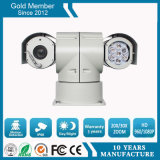 Vigilancia de coches de policía de 100 metros de visión nocturna cámara de red de HD IR PTZ (SHJ-HD-TA)