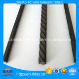 hélice de 4m m/espiral/alambre de acero de la PC llana/lisa