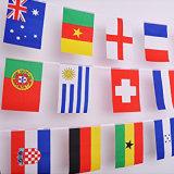 Indicateurs polychromes d'étamine de chaîne de caractères de pays de modèle neuf pour la décoration