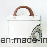 상표 디자이너 형식 여자 PU 자수 핸드백 (NMDK-042802)
