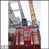 Élévateur moyen Scq200/200 de construction de maigre de vitesse de Gaoli