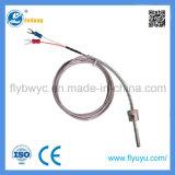 Détecteur de température fixe du thermocouple K de ressort de pression