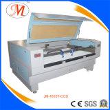 Lo SGS ha verificato la taglierina del laser per il taglio tessuto del contrassegno (JM-1610T-CCD)