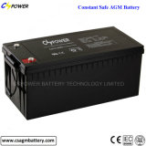 Batterie profonde 12V200ah de gel de cycle de longue vie pour l'usage à la maison