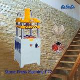 Máquina hidráulica de corte / prensado de piedra para baldosas de piedra (P80)