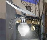 ヨーロッパの様式の倍の使用のマイクロウェーブ及びライト作動させた太陽ホーム庭LED軽いシステム