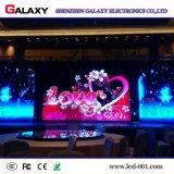 Pared de interior a todo color de la visualización video del alquiler LED de la instalación rápida P3 P4 P5 P6