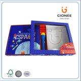 Kappen-und Unterseiten-Geschenk-Kasten mit freiem Fenster