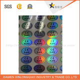 Collant d'hologramme d'Anti Fake Custom Adhesive Security Label Printing Company