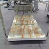 UV 대리석 PVC 선, UV 장식적인 대리석 PVC 위원회, UV 장식적인 대리석 PVC 장
