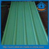 Folhas de aço revestidas dos revestimentos do metal do telhado/parede da cor barata do preço