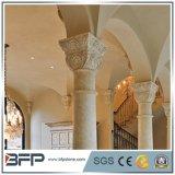 Columnas huecos de piedra de mármol naturales