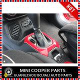 Cubierta roja material del sostenedor de Cover&Cup del engranaje de la rotación de estilo del ABS del accesorio auto para el modelo renegado (2PCS/SET)