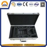 Valise en aluminium d'entreposage en boîte à outils de profession de cadre argenté d'UAV (HT-3026)