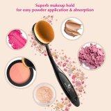 10PCS kosmetische die Borstel voor de Make-up van de Schoonheid wordt geplaatst