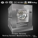 Lavatrice scaricante di inclinazione industriale completamente automatica della lavanderia dell'estrattore della rondella