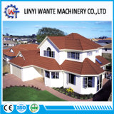 中国石は鋼鉄金属の結束の屋根ふきか屋根瓦に塗った