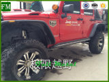4 Staaf van de Stap van de deur de Zij voor de Lopende Raad van Wrangler van de Jeep