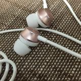 Auricular híbrido del metal del en-Oído con el Mic para el iPhone y Samsung Huawei etc