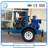 motorangetriebene selbstansaugende zentrifugale Dieselpumpe des Wasser-6inch für Abwasser