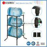 NSF-Zustimmung 5 Gallonen-Metallwasser-Flaschen-Bildschirmanzeige-Draht-Zahnstange